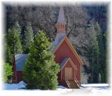 Photo of Yosemite Chapel (Dan Warsinger Photography)